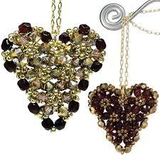 puffy heart pendant