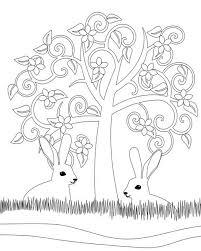Kleurplaten Voor Volwassenen Voor Pasen Voorjaar Foto