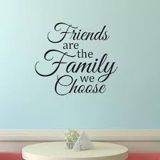Friend Wall Decal Family Wall Decal Vinyl Wall Decal Home Etsy