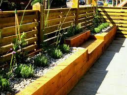 raised garden beds using bricks