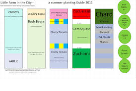 a little farm planting guide for summer