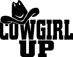 Items Similar To Cowgirl Up Vinyl Decal On Etsy Car Decals Vinyl Silhouette Stencil Vinyl