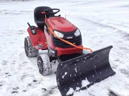 best snow plow for your lawn tractor