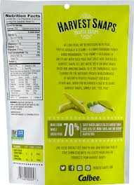 lightly salted green pea snack crisps