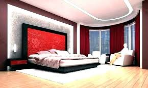 bedroom ideas maroon color wall paint