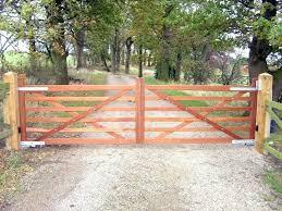 farm fence designs wood gates