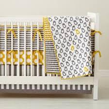 not a p crib bedding yellow crib