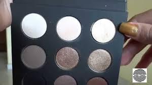 paleta make up for ever artist shadows