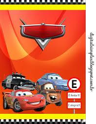 Kit Aniversario Personalizados Tema Carros Da Disney Para