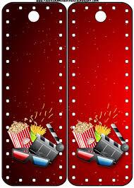 Fiesta De Cine Invitaciones Y Tarjeteria Para Imprimir Gratis