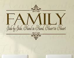 family togetherness christian quotes christian family wall