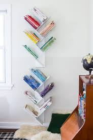 Tree Bookshelf Diy For A Beautiful Minimal And Shared Kids Bedroom