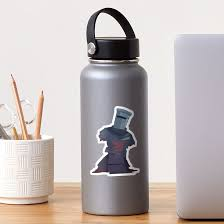 The Black Knight Monty Python Holy Grail Sticker By Frootypatooty Redbubble