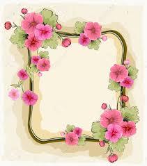 Invitacion Con Hermosas Flores Para Un Cumpleanos Boda Fecha