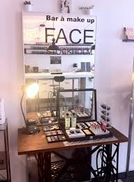 ouverture du make up bar face stockholm