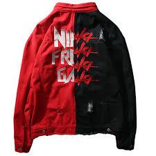 mens hip hop jacket coat kanye high