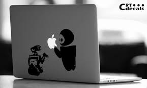 Wall E Vinyl Decal Walle Laptop Decal Vinyl Ipad Etsy