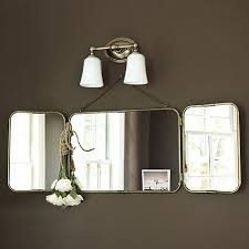 tri fold vanity mirror not sure if this
