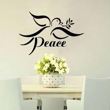 Peace Dove Wall Decors Animal Bird Wall Stickers Home Wall Decor Bedroom Decals Wall Decor Bedroom Bird Wall Stickerwall Sticker Aliexpress