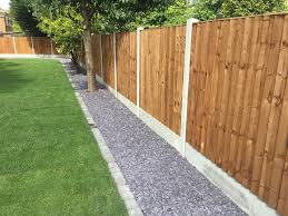 Image Result For Fence With Gravel Edge Garden Fence Panels Garden Fencing Cheap Fence