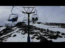 Turoa - Parklane Chair lift - YouTube