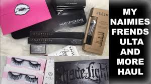 my naimies frends beauty and more haul