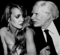 Jerry Hall & Andy Warhol – Backroom