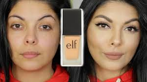 elf makeup reviews foundation