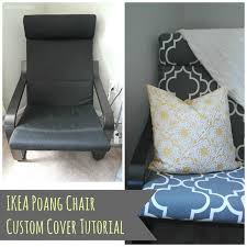 diy ikea poang chair cover polished