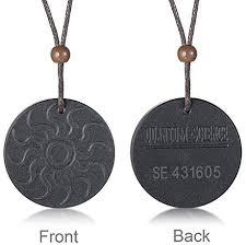 bio energy quantum pendant necklace