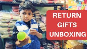 uniqe kids birthday return gifts