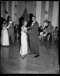 """Queen"""" Myra Campbell dancing with John Baker in George Washington ..."""