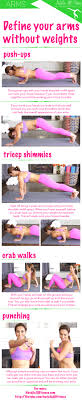 best bodyweight exercises for arms