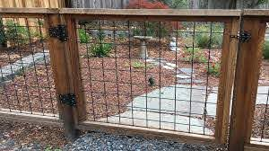 Hog Wire Fence Construction Details Details Landscape Art