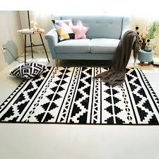 fashion black white geometric ethnic