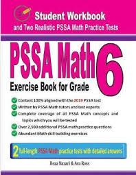 Pssa Math Exercise Book for Grade 6 | Ava Ross Book | In-Stock - Buy Now |  at Mighty Ape NZ