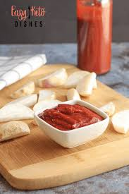 super easy homemade ketchup low carb