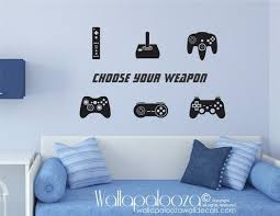 Gamer Wall Decals Video Games Video Game Controllers Video Game Wall Decals Game Room Gami Wall Decal Game Room Vinyl Wall Decals Nursery Wall Decals