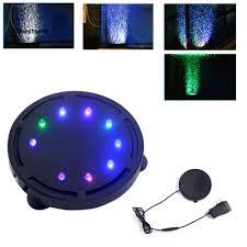 Đèn LED chiếu sáng hình tròn bong bóng trang trí bể cá