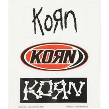 Korn Sticker Set Walmart Com Walmart Com
