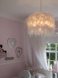 feather light fixture lamp shades