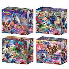 2020 Latest 324Pcs Pokemon Sword & Shield English Cards Trade Game Card  Collection Toys|