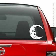 Tribal Crescent Moon Vinyl Decal Sticker Car Truck Vehicle Bumper Window Wall De Ebay
