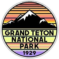 Amazon Com Grand Teton National Park Wyoming Vinyl Decal Sticker 3 Automotive