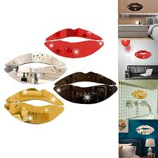 Wall Decor Creative 3d Kiss Lips Wall Sticker Diy Acrylic Mirror Surface Sticker For Home Bathroom Decals Art Mural Home Decor Wall Stickers Nursery Wall Stickers Quotes From Lvhome09 3 07 Dhgate Com