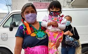 Indígenas en la Ciudad de México acusan abandono durante ...