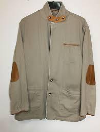 orvis tan khaki cotton canvas leather