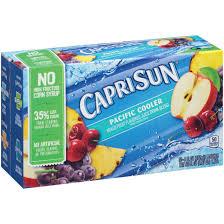 capri sun pacific cooler flavored juice