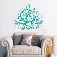 World Menagerie Lotus Flower Wall Decal Reviews Wayfair