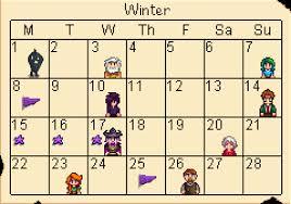 winter stardew valley wiki